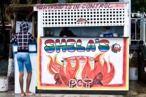 Shela's Pot In Cruz Bay