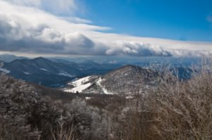 North Carolina Mountains In Winter