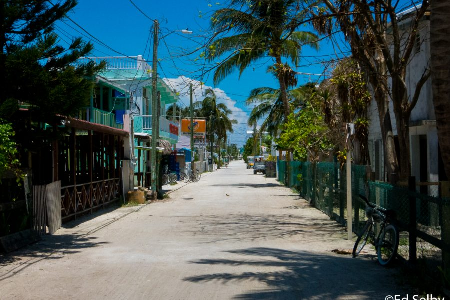 A Bike Ride In Caye Caulker