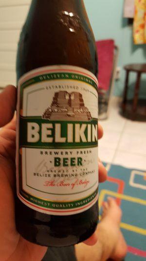 Caye Caulker Belikin Beer