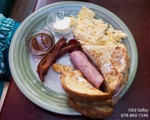 Caye Caulker Breakfast